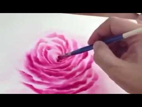 Rose Painting by Teacher Bee.mp4 video
