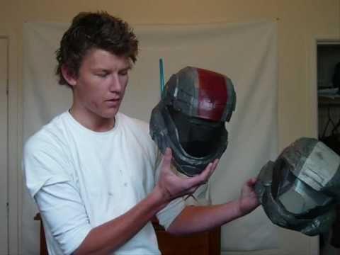HALO 3 ODST helmet Pepakura