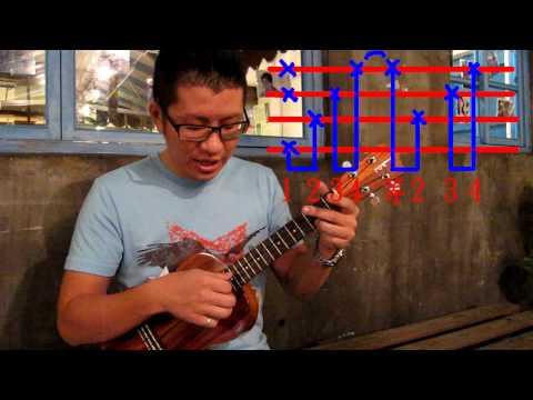 22【烏克麗麗ukulele】基礎教學12 指法練習(2)烏克鋼琴伴奏手�