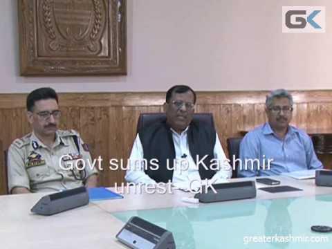 Home Secretary sums up Kashmir situation