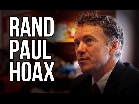 Rand Paul Hoax Sweeps Web!!!