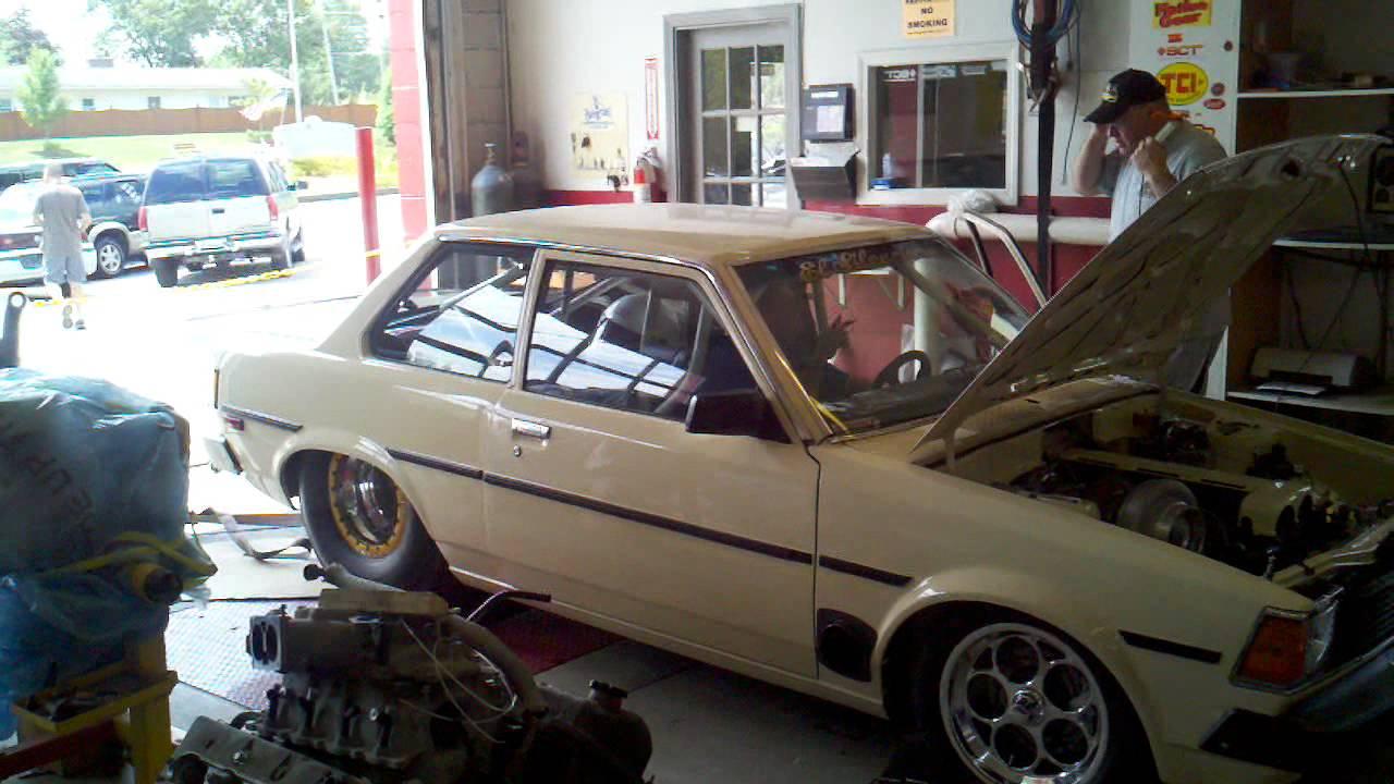 2jz Turbo Corolla Smokin The Dyno Over 1000rwhp Youtube