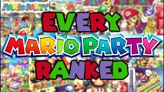 Every Mario Party Game Ranked!