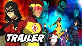 Young Justice Season 3 Outsiders Trailer - Comic Con 2018