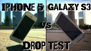 Drop Test_ iPhone 5 vs Samsung Galaxy S3