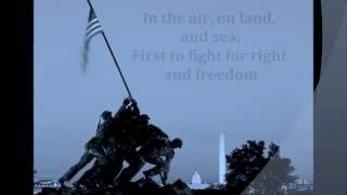Marines 39 Hymn Song Words Patriotic Veterans Memorial July 4th Patriot Day Sing Along Songs