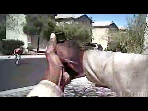 Bodycam Footage Of Las Vegas Police Shootout