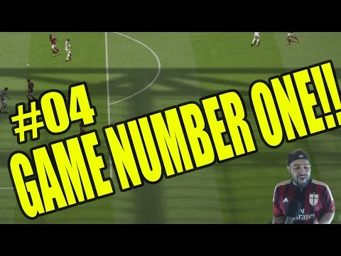 FIFA 15 CAREER MODE - AC MILAN GAME NUMBER ONE #04