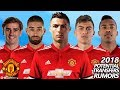 Manchester United - Top 15 Potential Transfers & Rumours Winter 2018