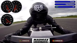World's Fastest Turbine bike (Road Legal) - 234mph !!