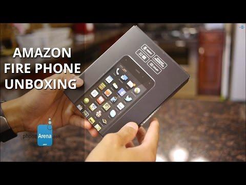 Amazon Fire Phone unboxing