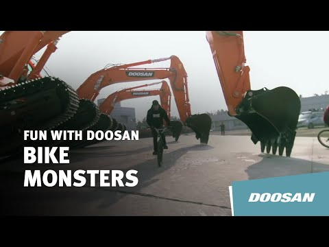 Bike Monsters with Doosan Excavators