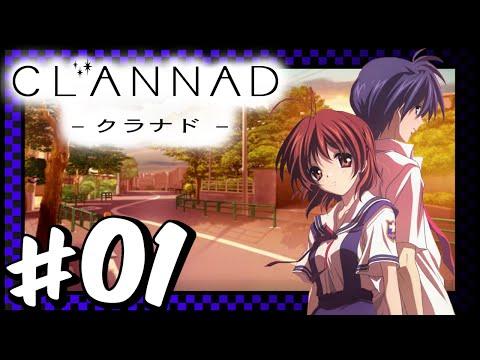 Clannad Visual Novel - Part 01 - Just Find It Nagisa ~
