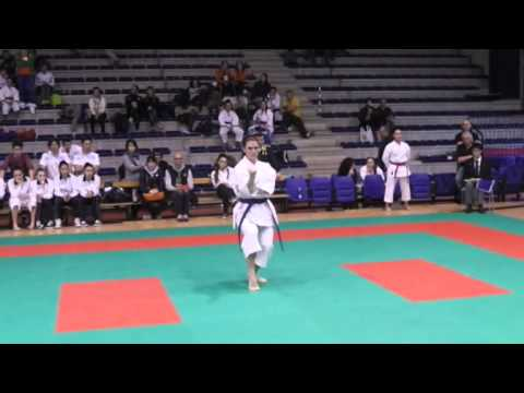 karate italian open 2014 kata senior final female