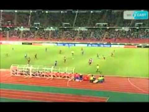 Highlights Thailand 2 - 0 Oman HT