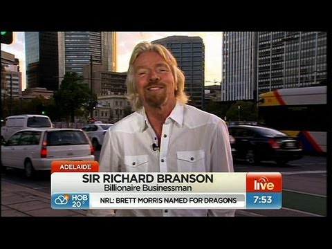 Sunrise - Richard Branson: Life of a billionaire
