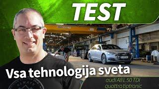 Audi A8 L 50 TDI quattro tiptronic 2019 - test