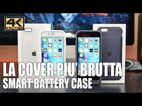 LA COVER PiU' BRUTTA MAI VISTA - APPLE SMART BATTERY CASE ITA 4K UHD