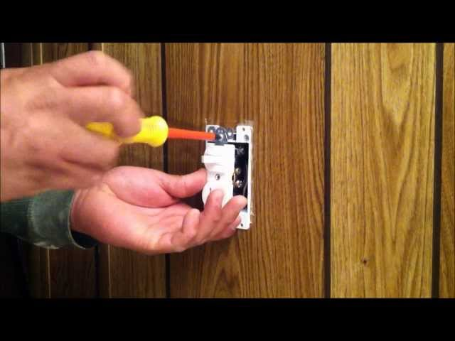 Instalacion De Apagador Con Tomacorriente Electrico