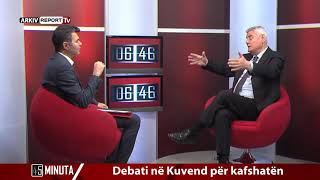 Report Tv - 45 Minuta, i ftuar Dashamir Shehi