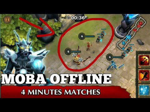 game moba offline