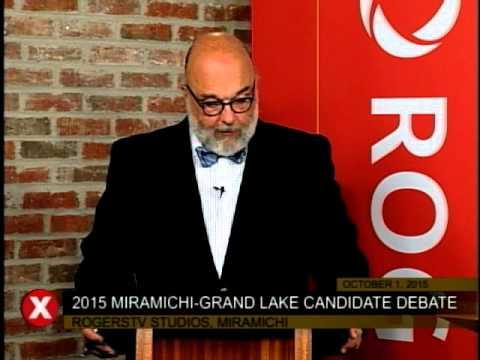 Miramichi-Grand Lake Debate - 2015 Canadian Federal Elections - RogersTV