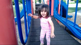 Skip To My Lou - Good Baby ABC SONG Nursery Rhymes outdoor fun playing at the park