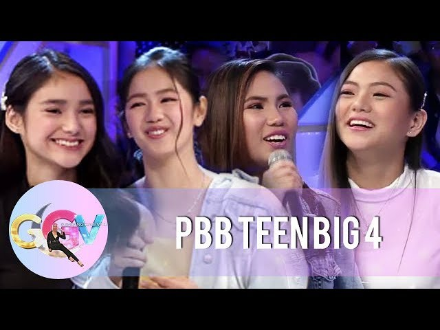 GGV: Why PBB OTSO Teen Big 4 joined Pinoy Big Brother