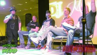 Men Behind the Mask Q&A Panel Kane Hodder, Derek Mears, Brian Steele, Tyler Mane