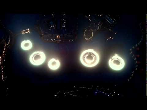 Dubai Fountains Water Dance From Top of Burj Khalifa.wmv