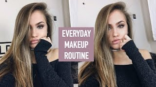 EVERYDAY MAKEUP ROUTINE // WINTER 2016 | Mel Joy