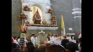 Virgen de la Puerta. Misa central. EL PADRE NUESTRO CANTADO