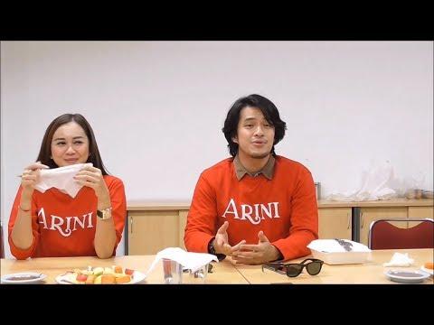 Lagu Morgan Oey Nyanyikan Soundtrack Film Arini di kantor Redaksi Tribunnews