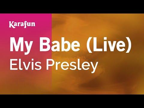 Karaoke My Babe (Live) - Elvis Presley