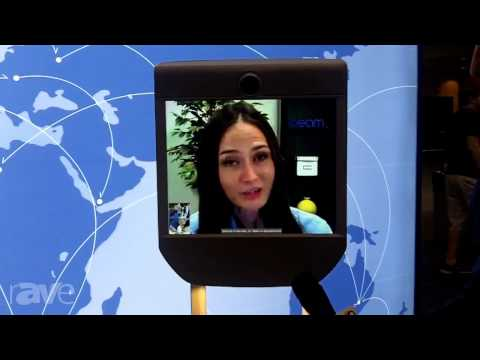 InfoComm 2013: Beam Virtually Presents Remote Presence Device