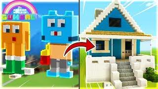 Thăm Nhà GumBall (Minecraft Thành Phố Phim Hoạt Hình)