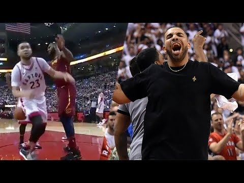 Lebron James SHUTS DOWN The Raptors And Sideline Bully Drake | 2018 NBA Playoffs