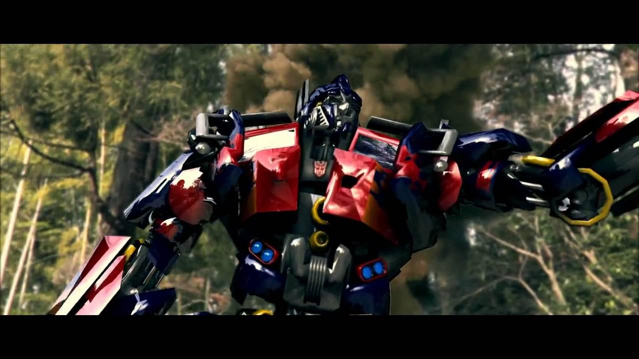 Transformers 3d Animation Optimus Prime Vs Megatron Cgi