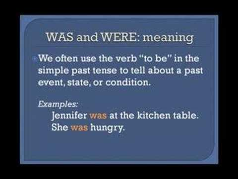 Lesson 3a  - The Simple Past Tense - Basic English Grammar