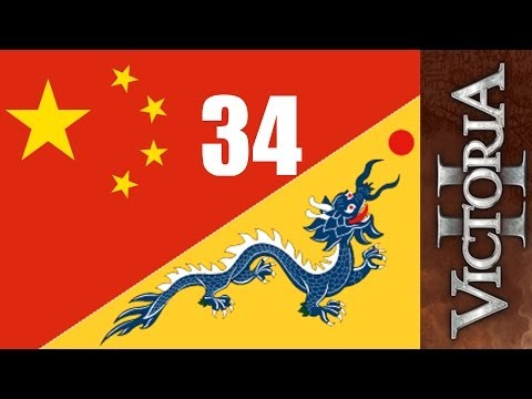 China Dragon 34 - Beijing To Normandy Railway - Victoria 2 HOD