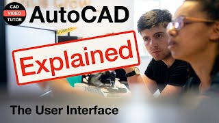 AutoCAD 2012 - Lesson 1 - The User Interface
