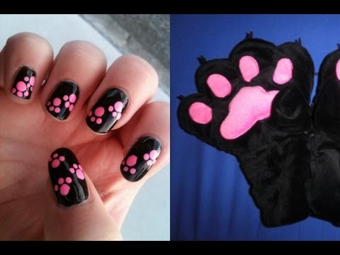 Animal Paw Print Nail Dotting Tutorial | NAV