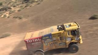 Africa Race 2016 - Scania a levegőből