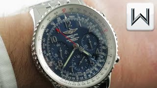 Breitling Navitimer 01 Chronograph Blue Dial (AB0121C4/C920) Luxury Watch Review