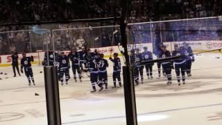 Winnipeg Jets vs Toronto Maple Leafs Patrik Laine Overtime Victory MTS Centre
