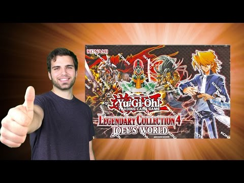 BEST Yugioh 2013 Legendary Collection 4: Joey's World Box Opening OH BABY!!