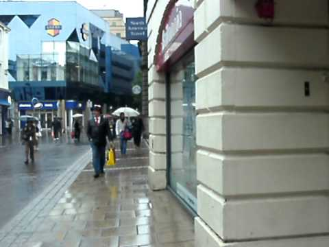 Walking in Leeds, England