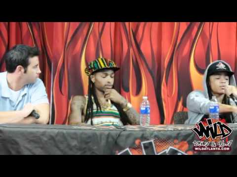 New Boyz live chat with WiLD Atlanta