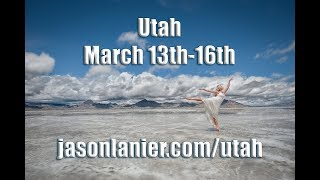 Photography Workshops in Salt Lake City, Utah- Bonneville Salt Flats, and Pictureline Camera