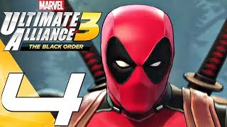 Marvel Ultimate Alliance 3 - Gameplay Walkthrough Part 4 - X-Men & Deadpool (Full Game) Switch